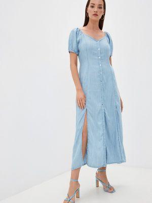 Джинсовое платье - голубое Tiffosi