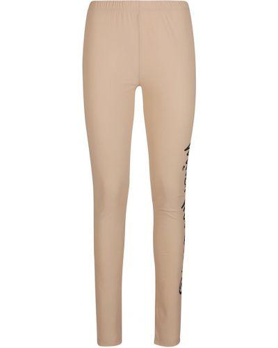 Beżowe spodnie Mm6 Maison Margiela