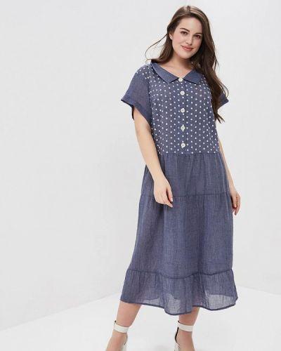 Синее платье весеннее Silver String
