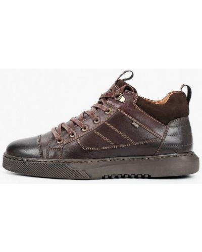 Коричневые кожаные ботинки Kari