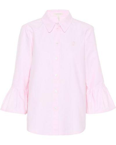 Расклешенная розовая классическая рубашка Marc Jacobs