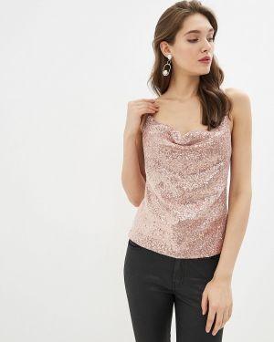 Топ на бретелях розовый Fashion.love.story