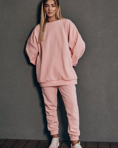 Теплый спортивный костюм - розовый Gepur