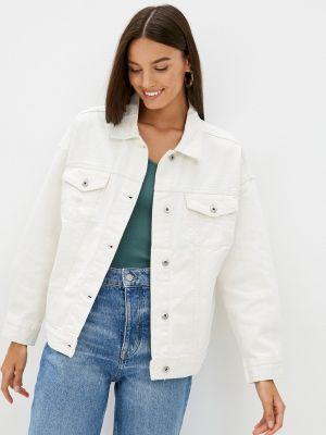 Белая джинсовая куртка Befree