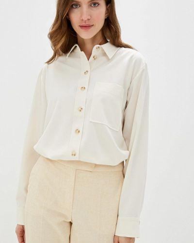 Блузка с длинным рукавом бежевый салатовый Lime