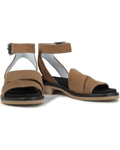 Sandały skórzane - brązowe Rag & Bone