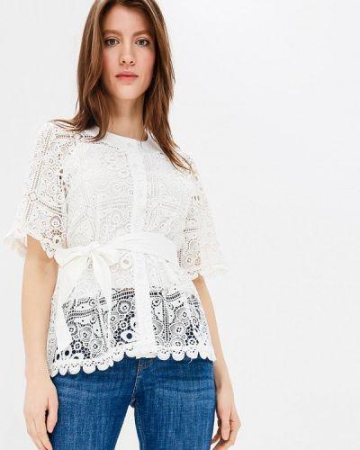 Блузка кружевная белая Imocean