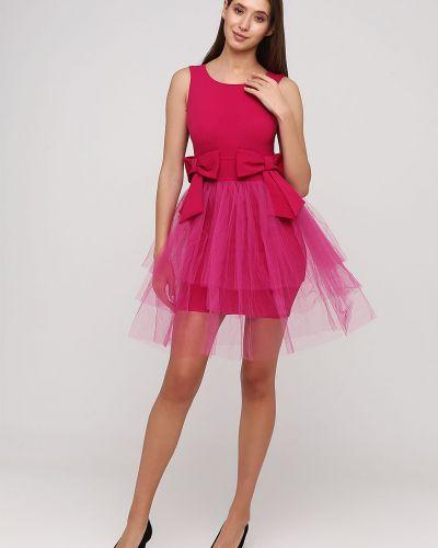 Гипюровое вечернее платье - розовое Rinascimento