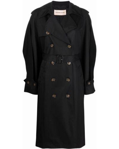 Płaszcz przeciwdeszczowy - czarny Alexandre Vauthier