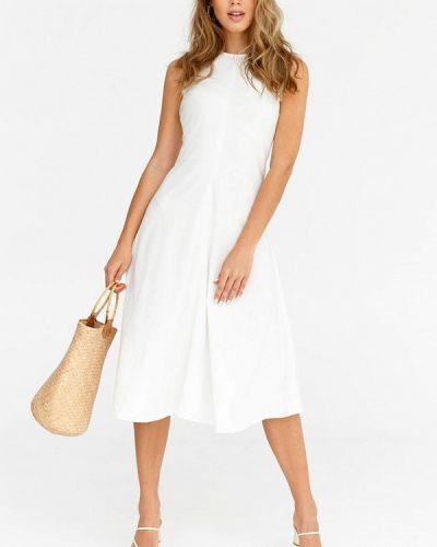 Повседневное платье - белое Gepur
