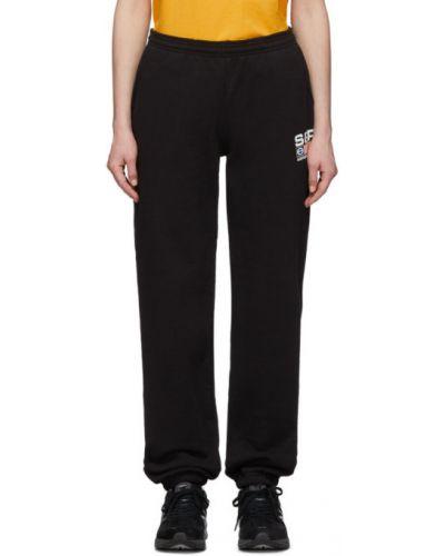 Sportowe spodnie z kieszeniami z mankietami Sporty And Rich
