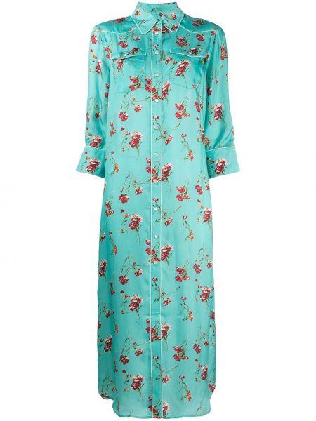 Классическое коралловое платье с воротником с карманами R13