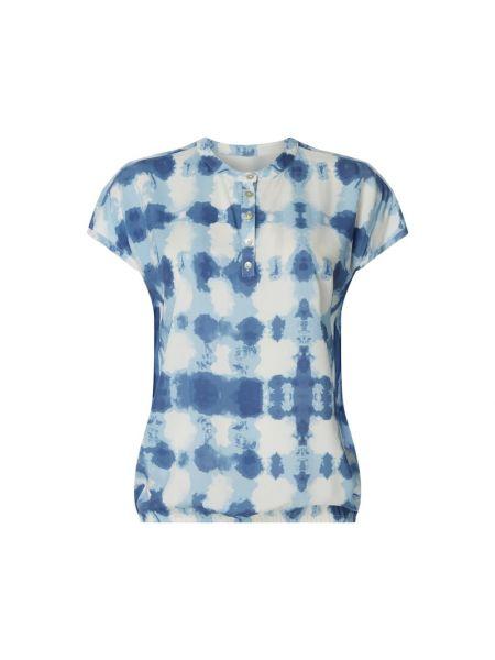 Bluzka z wiskozy - niebieska Lieblingsstück