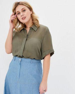 Блузка с коротким рукавом зеленый весенний Svesta