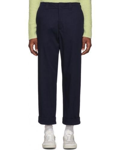 Bawełna bawełna spodni spodnie z kieszeniami Acne Studios