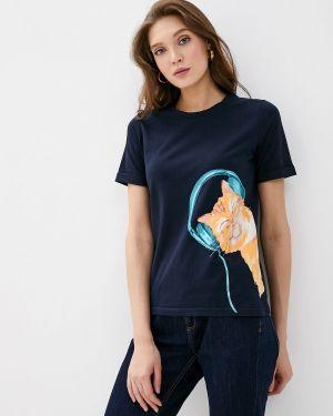 Поло синий Fashion.love.story