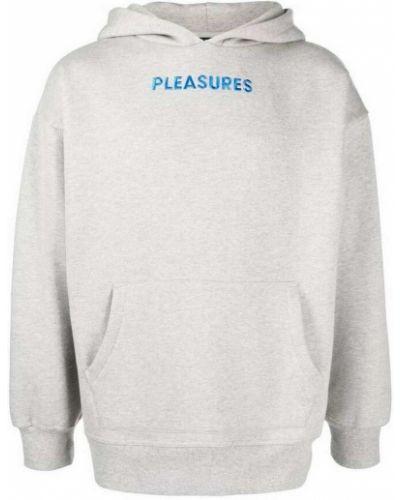 Szara bluza Pleasures