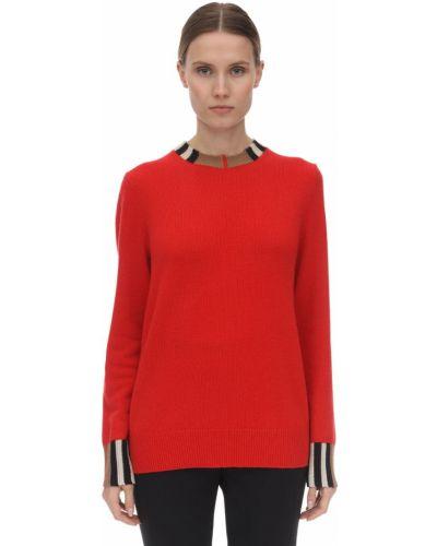 Sweter z kołnierzem z kaszmiru Burberry
