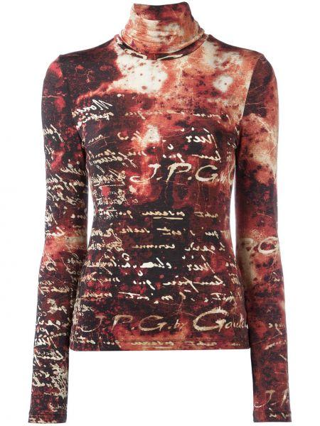 Топ с надписями Jean Paul Gaultier Pre-owned