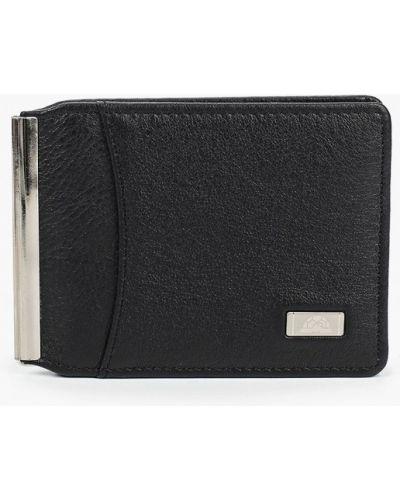 Черный кожаный кошелек Tony Perotti