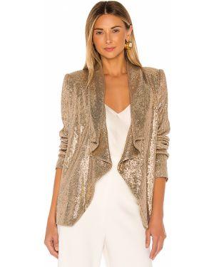 Złota kurtka z cekinami vintage Rachel Zoe
