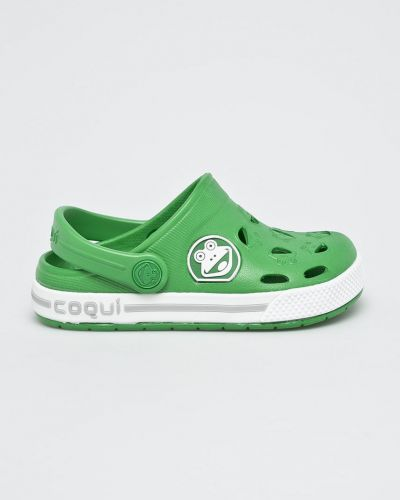 Шлепанцы зеленый Coqui