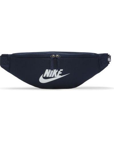 Синяя сумка с поясом Nike