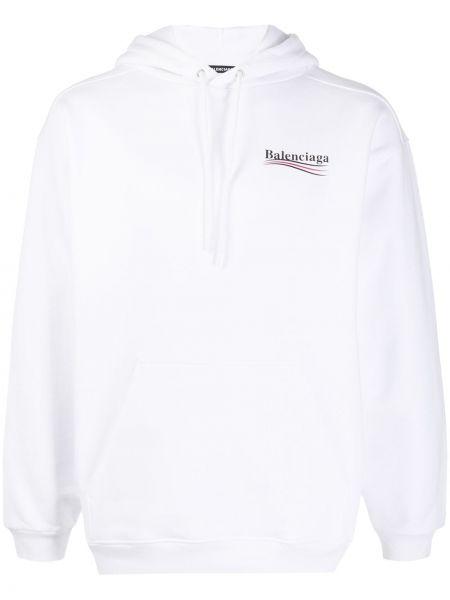 Bluza z kapturem z kapturem długo Balenciaga