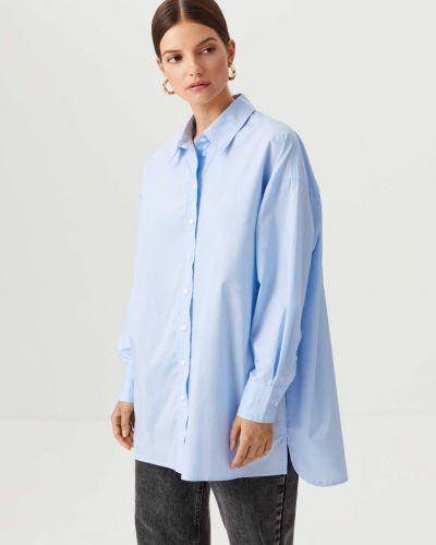Рубашка с длинным рукавом - голубая Sela
