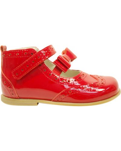 Туфли лаковые красные Zecchino D'oro