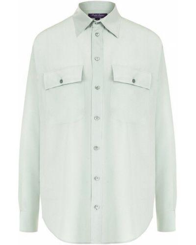 Блузка с длинным рукавом прямая на пуговицах Ralph Lauren