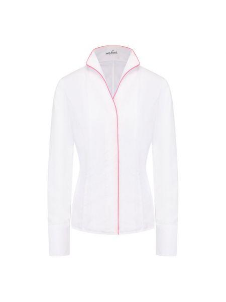 Хлопковая белая рубашка Van Laack