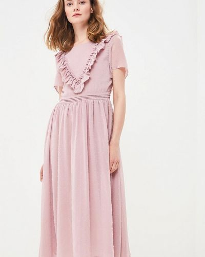 Платье весеннее розовое Sweewe
