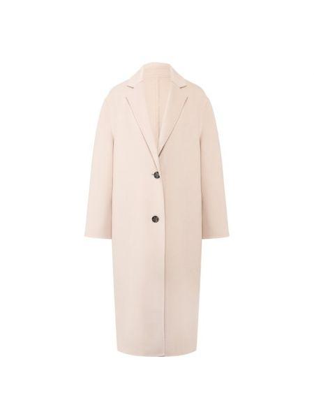 Пальто розовое шерстяное Joseph