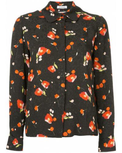 Рубашка с длинным рукавом с принтом с цветочным принтом Vilshenko
