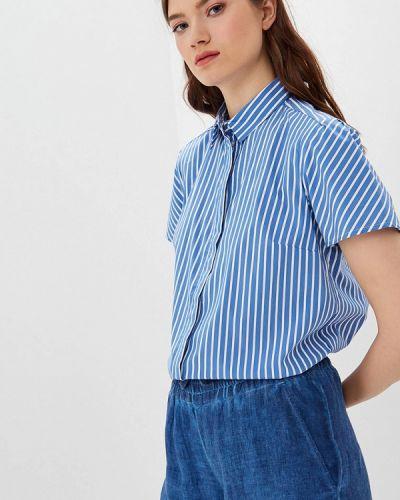Рубашка с коротким рукавом синяя оливковый S.oliver
