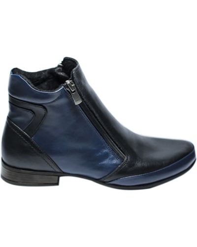 Повседневные ботинки - синие Trio Trend