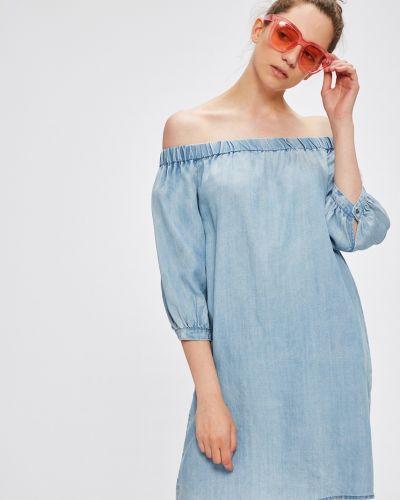 Джинсовое платье мини однотонное Only