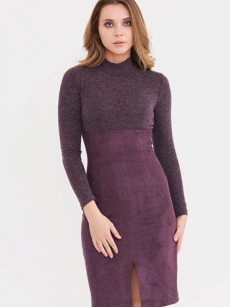 Фиолетовое платье Donatello Viorano