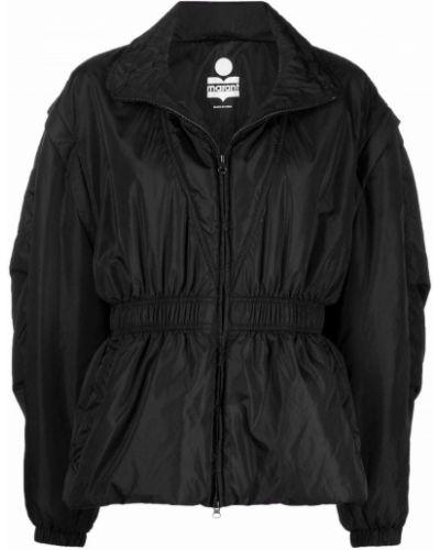 Черная длинная куртка Isabel Marant
