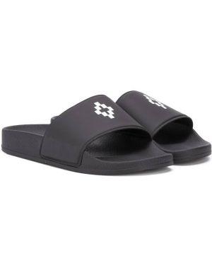 Шлепанцы для обуви черный Marcelo Burlon County Of Milan Kids