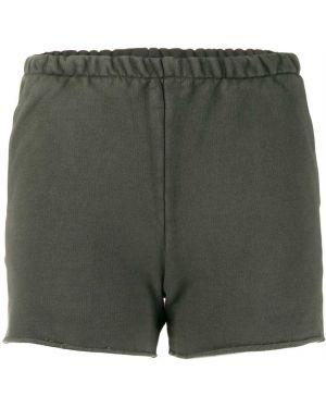 Спортивные шорты короткие - серые Yeezy