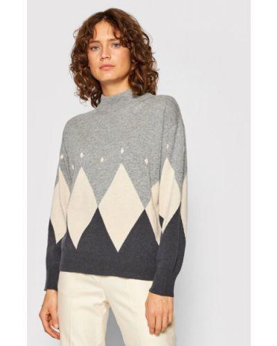 Szary sweter Peserico
