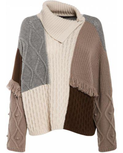 Шерстяная свитер с воротником Weekend Max Mara