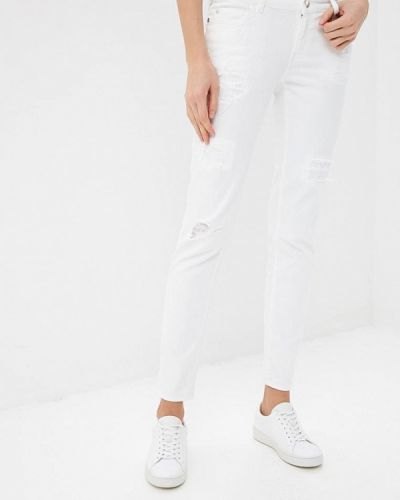 Белые джинсы-скинни Just Cavalli