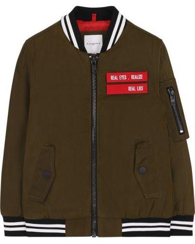 Куртка с воротником-стойкой с нашивками Givenchy