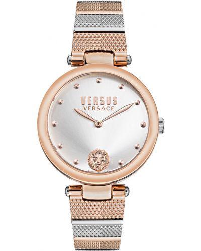 Różowy zegarek kwarcowy Versus Versace