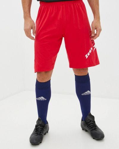 Спортивные шорты - красные Zeus