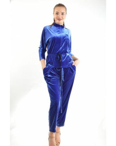 Синяя блузка Bgn