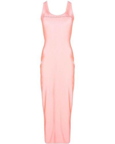 Sukienka - różowa Alexander Wang